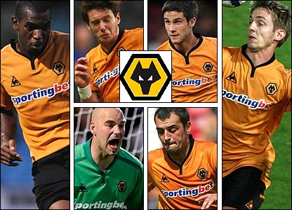 Clockwise from left: Ronald Zubar; Greg Halford; Andrew Surman; Kevin Doyle; Nenad Milijas; Marcus Hahnemann