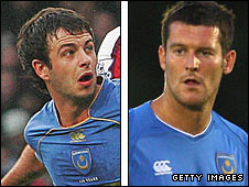 Marc Wilson (left) and David Nugent