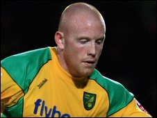 Matty Pattison in Norwich City colours