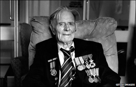 Harry Patch photographed by Don McCullin