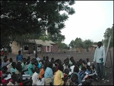 A class at Akobo Primary School