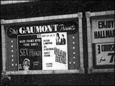 The Gaumont billboard, 1960s