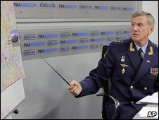 Deputy chief of staff of Russia's armed forces General Anatoly Nogovitsyn