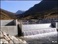 Inverlael hydro scheme