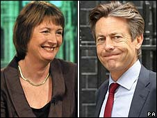 Harriet Harman and Ben Bradshaw