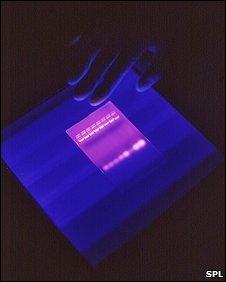 Gel electrophoresis slide (SPL)