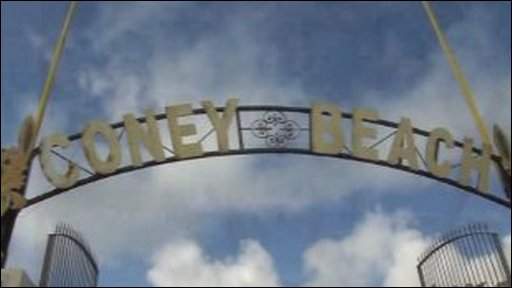 Coney Beach sign