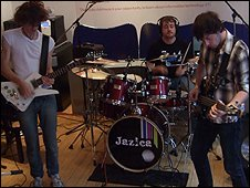 Jazica in session for BBC Introducing South:Live