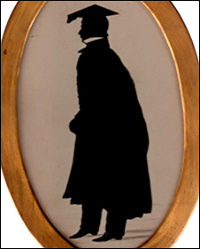 Silhouette of James Motley