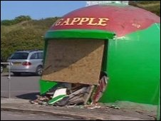'Big Apple' at Mumbles Head, Swansea
