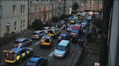 Edinburgh street scene