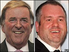 Sir Terry Wogan and Chris Moyles