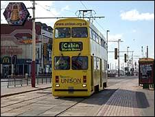 Blackpool tram - generic