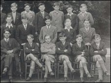 Benny Hill at school