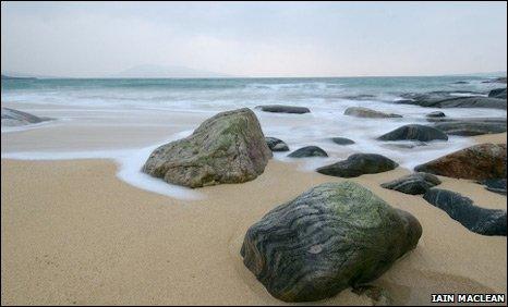 Beach on Harris