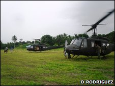 Philippines armed forces helicopters