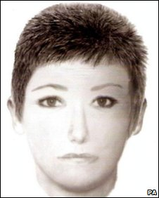 E-fit of 'Australian' woman