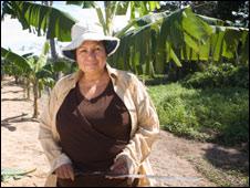 Bolivian worker Maira Salas, Copacabana