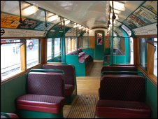 Inside the Heritage Train