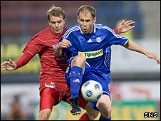 Darren Mackie and Michal Hubnik