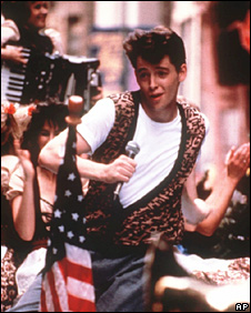 Matthew Broderick in Ferris Bueller's Day Off (1986)