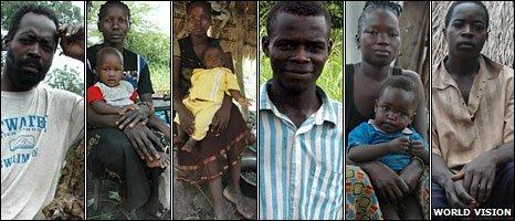 People fleeing LRA rebels