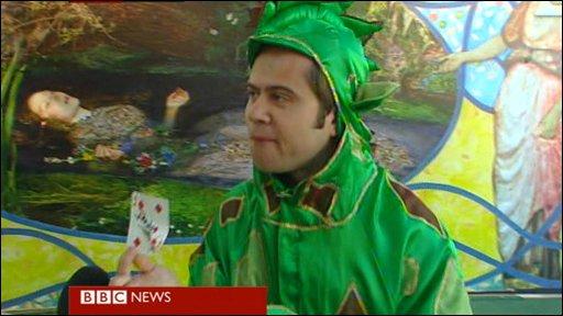 Piff the Magic Dragon, Edinburg Fringe Festival performer