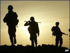 Sri Lankan soldiers