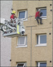 Ledge rescue