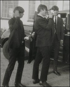 Rare Beatles photograph taken in Dorchester
