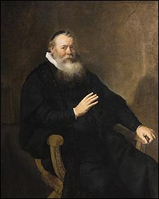 Portrait of Pastor Swalmius