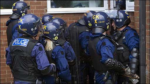 Raids in Stockport
