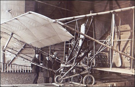 Bi-plane at Doncaster