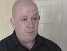 Alan, Lorraine's husband, is her main carer