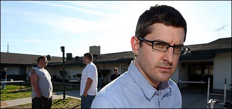 Louis Theroux at a treatment centre