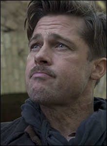 Brad Pitt as Lt Aldo Raine