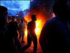 Protest in Tehran 16.6.09
