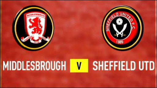 Middlesbrough 0-0 Sheff Utd