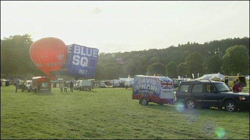 Balloon Fiesta arena