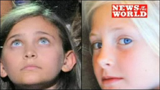 Paris Jackson and Harriet Lester