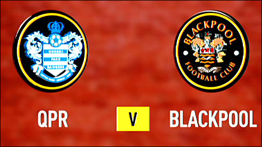 Highlights - QPR 1-1 Blackpool