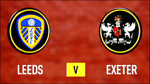Highlights - Leeds 2-1 Exeter