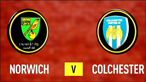 Highlights - Norwich 1-7 Colchester