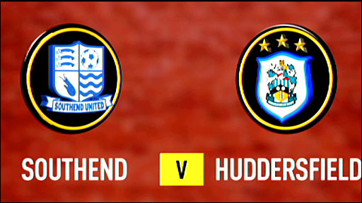 Highlights - Southend 2-2 Huddersfield