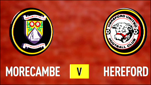 Highlights - Morecambe 2-2 Hereford