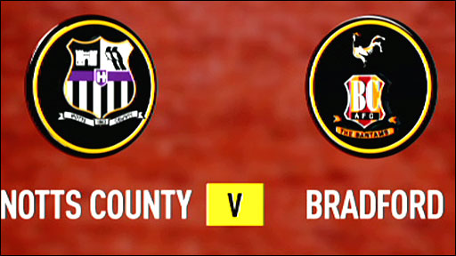 Highlights - Notts County 5-0 Bradford