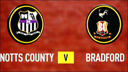 Highlights - Notts County 5-0 Bradford