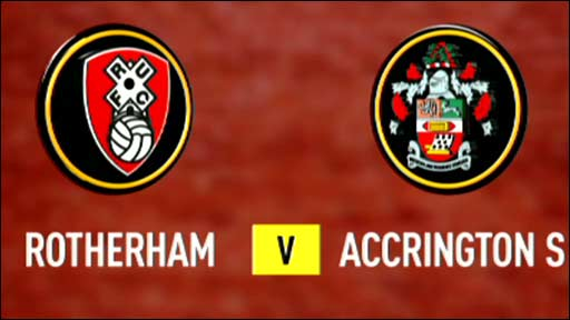 Rotherham v Accrington Stanley