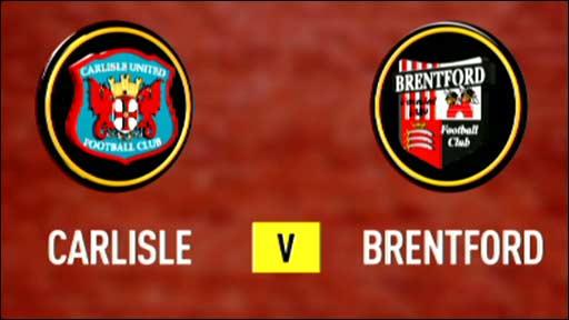 Carlisle v Brentford