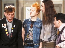 Characters from The Young Ones
